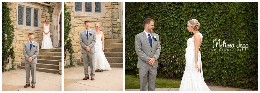 first look wedding pictures carver county mn