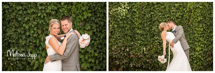 outdoor bride and groom wedding pictures mn