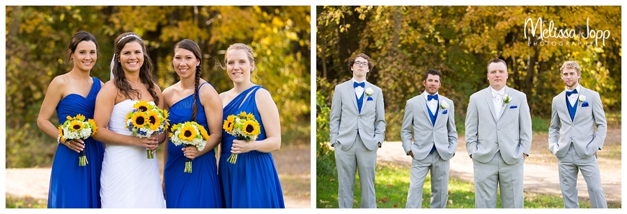 bridesmaid and groomsmen pictures carver county mn