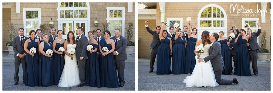 wedding party photos eden prairie mn