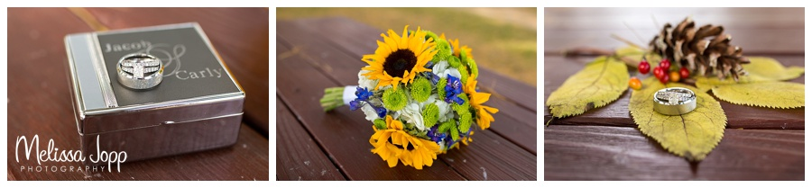 rustic wedding detail pictures carver county mn