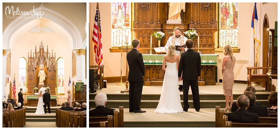 church wedding ceremony norwood young america mn