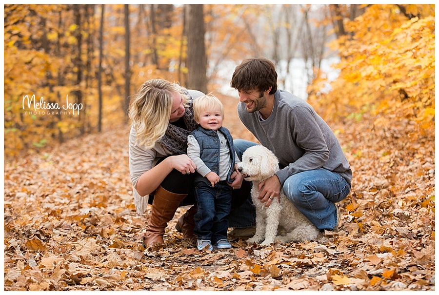 fall family pictures with dog chanhassen mn