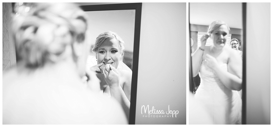 bride getting ready pictures minneapolis mn