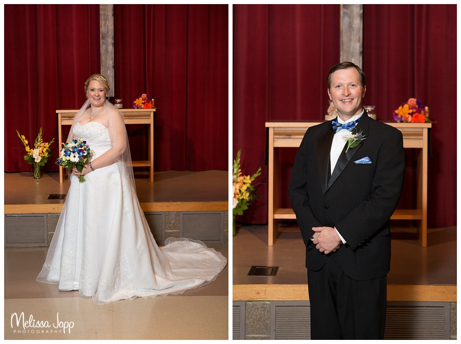 bride and groom church wedding pictures minneapolis mn