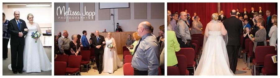 bride walking down the aisle minneapolis mn