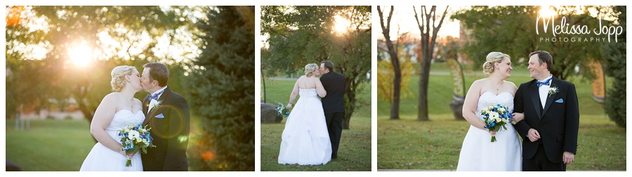 sunset wedding pictures minneapolis mn