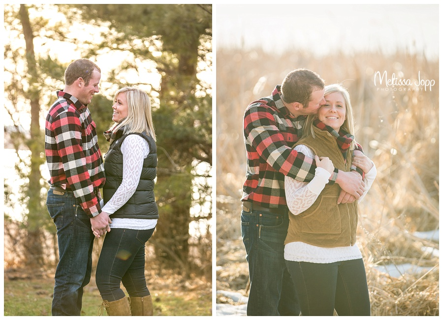 sunset engagement pictures mayer mn