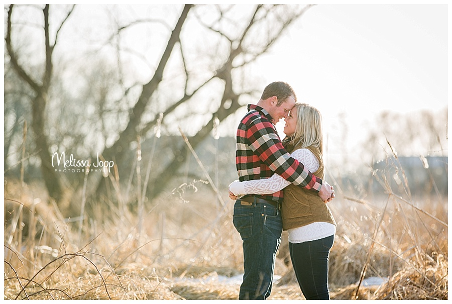 rustic engagement picture mayer mn
