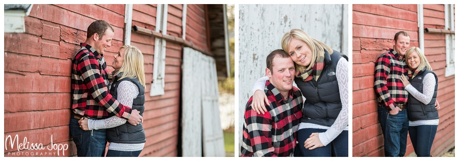rustic engagement pictures carver county mn