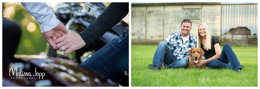 engagement pictures of ring carver county mn