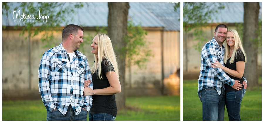 rustic engagement pictures delano mn