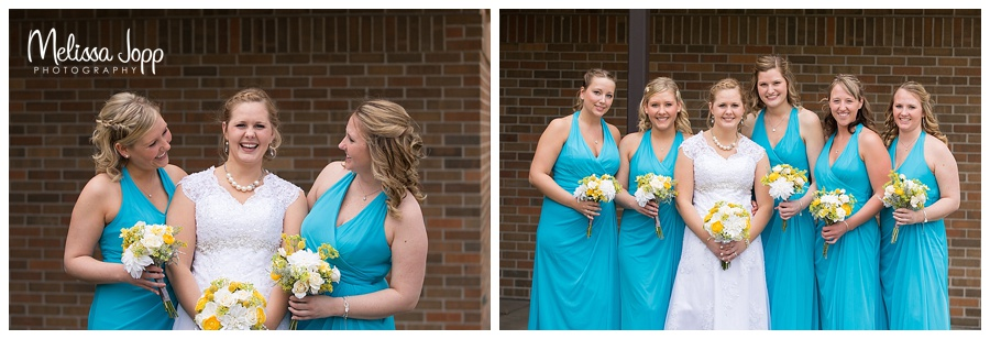 bridesmaid pictures carver county mn