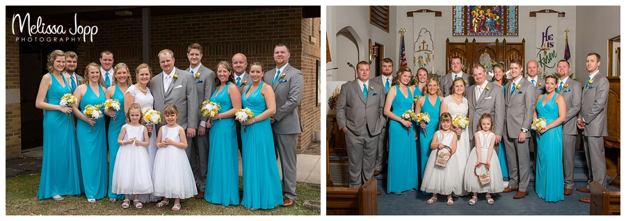 wedding party pictures carver county mn