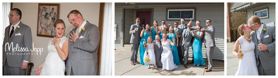 fun wedding party pictures mn
