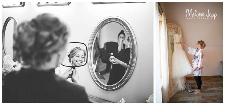 bride getting ready pictures cottage grove mn