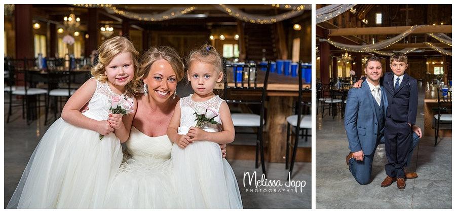 flower girl and ring bearer pictures carver county mn