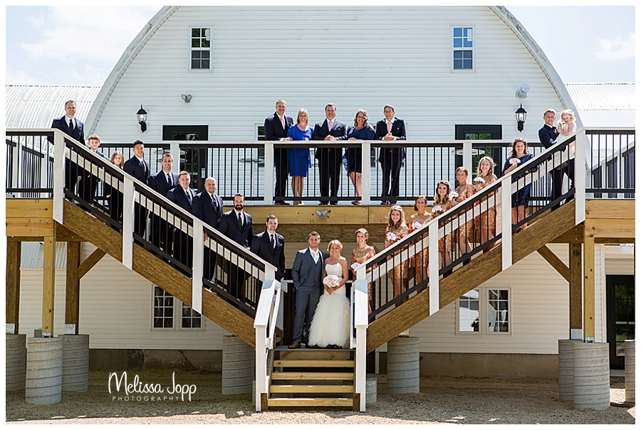 rustic wedding picture carver county mn