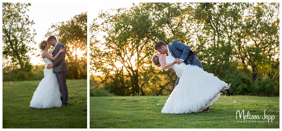 sunset wedding pictures cottage grove mn