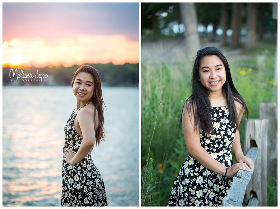 sunset lake senior pictures mn