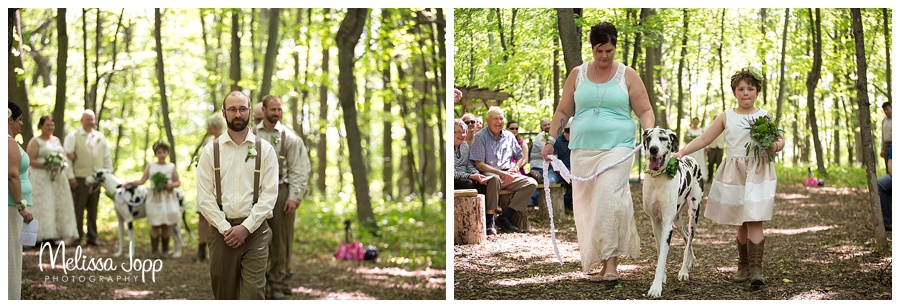 outdoor wedding ceremony pictures carver county mn