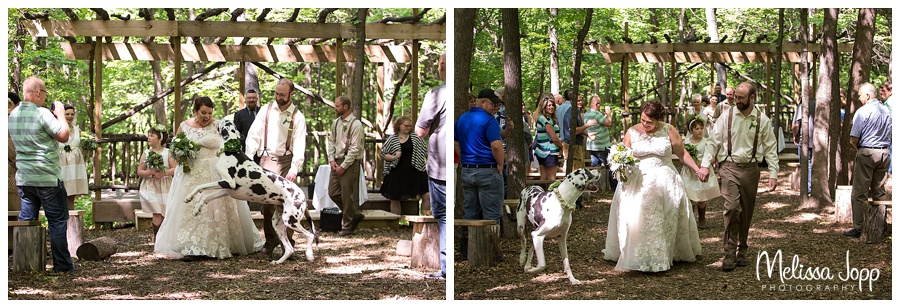 wedding pictures with dog carver county mn