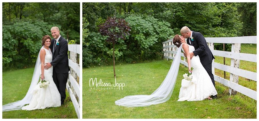outdoor wedding pictures arlington mn