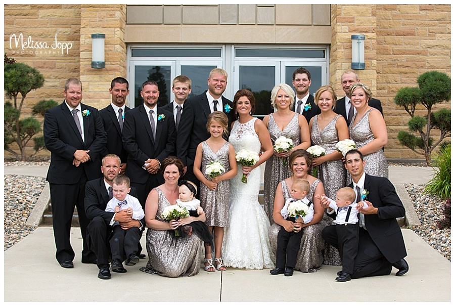 bridal party pictures mn