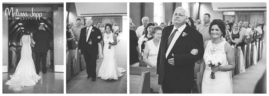 bride walking down the aisle pictures carver county mn