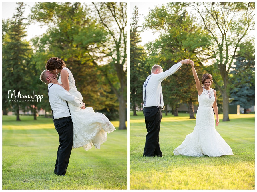 sunset wedding pictures carver county mn